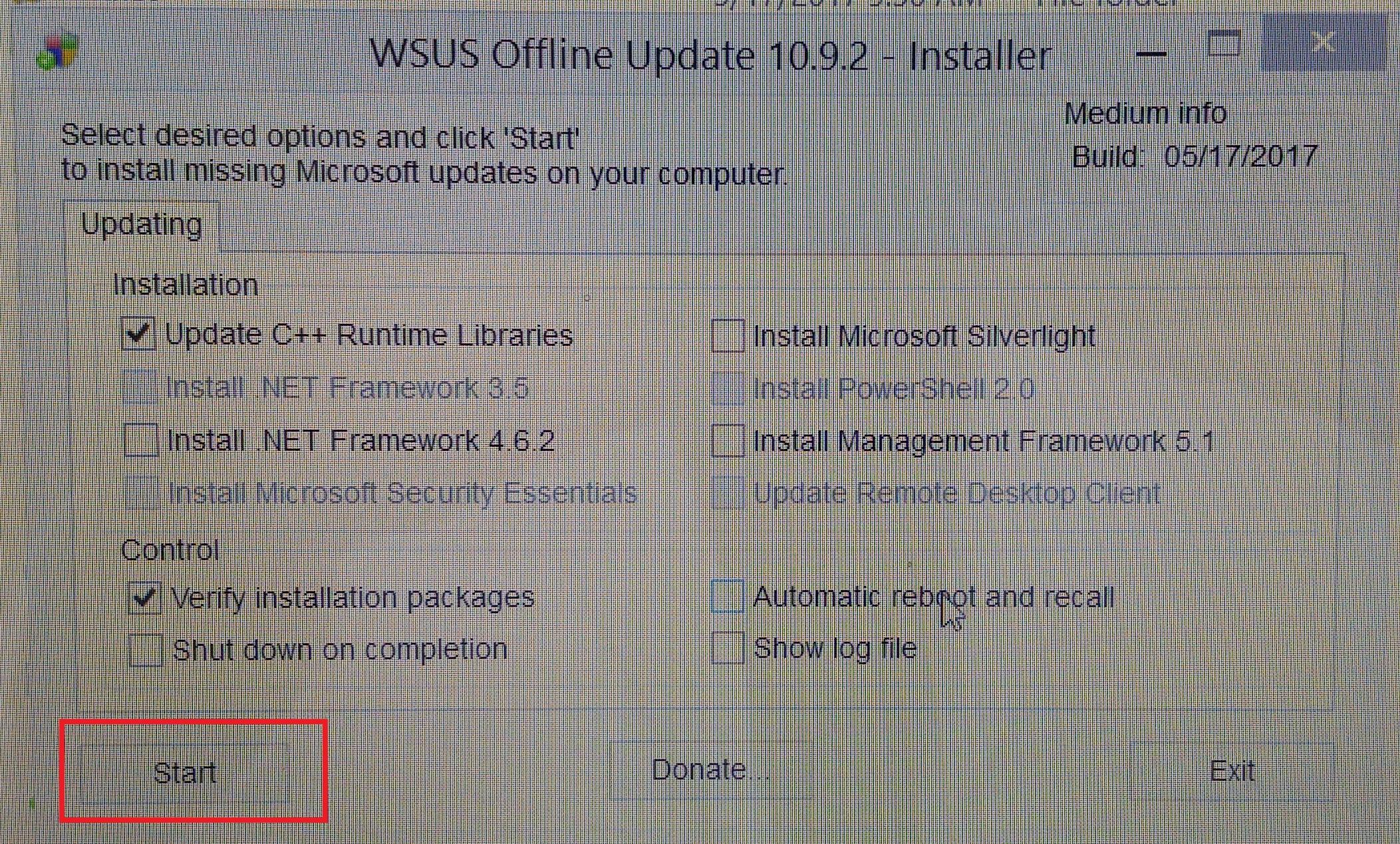 Fixing a Frozen Windows Update – Busix Documentation