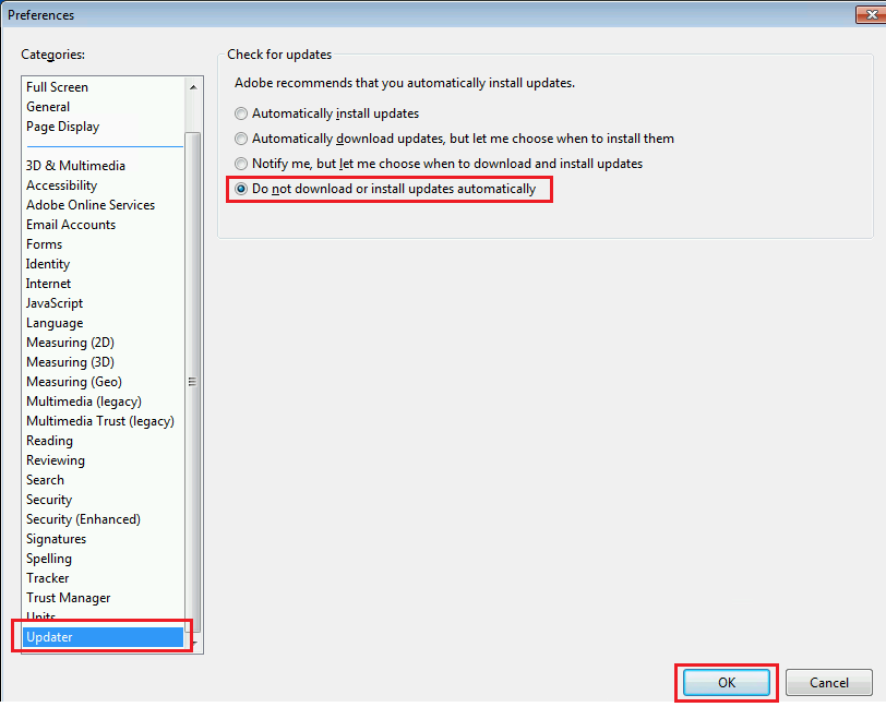 install adobe reader xi and dc